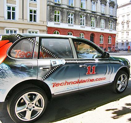 porsche-bil-dekoration